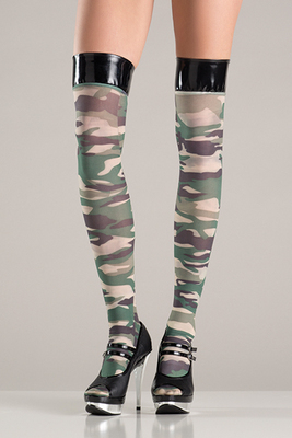 Thigh High Camouflage
