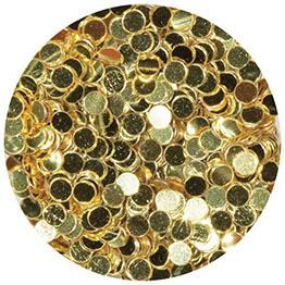 Gold Polka Dot