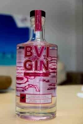 BVI GIN 375ML HIBISCUS RASPBERRY