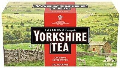 TAYLORS YORKSHIRE TEABAGS 240S