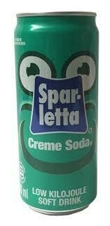 SPARLETTA CREME SODA - SINGLE CAN
