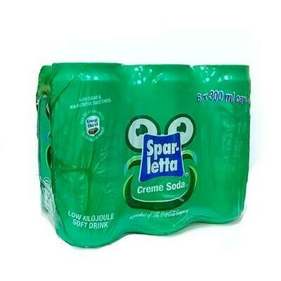 SPARLETTA CREME SODA-6 PACK