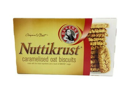 BAKERS NUTTIKRUST CARAMELISED OAT BISCUITS
