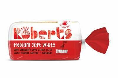 ROBERTS WHITE MED BAG 800G