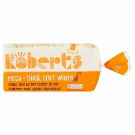 RETAIL ROBERT WHITE MEGA THICK BREAD 800G