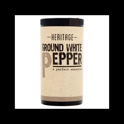 HERITAGE GROUND WHITE PEPPER 25G