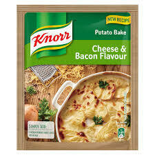 KNORR POTATO BAKE - CHEESE & BACON PACKET