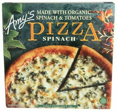 AMY'S PIZZA SPINACH