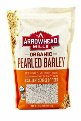 ARROWHEAD MILLS BARLEY PEARLED 28OZ EA