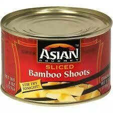 ASIAN GOURMET BAMBOO SHOOTS SLICED 8OZ EA