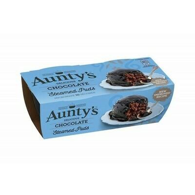 AUNTYS CHOCOLATE FUDGE PUDDING 2 X 100G