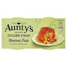 AUNTYS GOLDEN PUDDING 2X95G