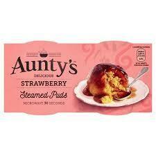 AUNTYS STRAWBERRY PUDDING 2X95G