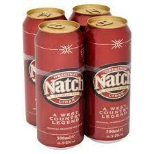 NATCH CIDER 4PK 500ML
