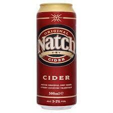 NATCH ORIGINAL DRY CIDER 500ML