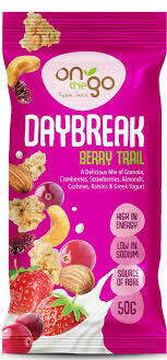 ON THE GO - DAYBREAK BERRY 50G