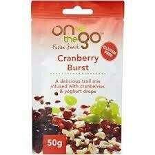 ON THE GO 50G - CRANBERRY BURST