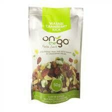 ON THE GO 50G - WASABI CRANBERRY KICK