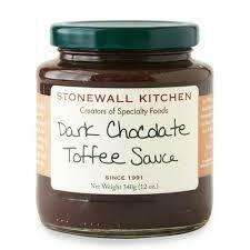 STONEWALL - DARK CHOCOLATE TOFFEE SAUCE 12oz