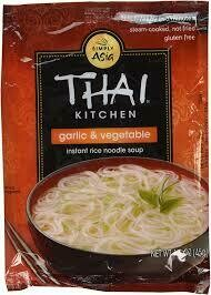 THAI KITCHEN GARLIC VEGETABLE INSTANT RICE NOODLE