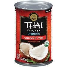THAI KITCHEN COCONUT MILK  ORGANIC 13.66OZ EA