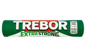 TREBOR EXTRA STRONG MINT ROLL 40G