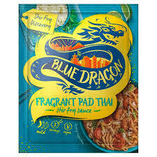 BLUE DRAGON PAD THAI STIR FRY SAUCE 3.4FZ EA