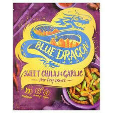 BLUE DRAGON SWT CHILLI & GARLIC STIR FRY 120G