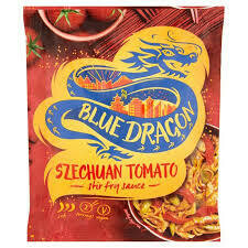 BLUE DRAGON SZECHUAN TOMATO STIR FRY 120G