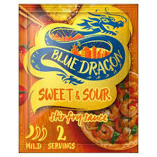 BLUE DRAGON SWEET & SOUR STIR FRY 120G