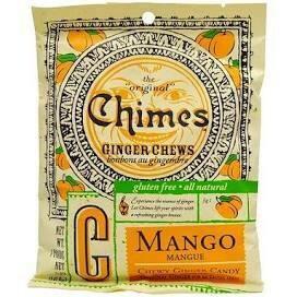 CHIMES GINGER CHEWS - MANGO - 1.5 OZ