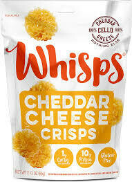 CELLO CRISPS WHISPS CHEDDAR