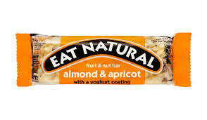 EAT NATURAL - ALMOND APRICOT YOGHURT GF 45G