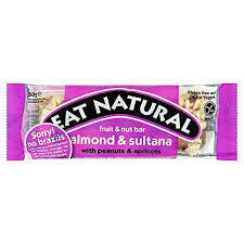 EAT NATURAL - BRAZIL NUT & SULTANA GF 45G