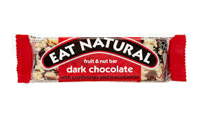 EAT NATURAL  DARK CRAN/MACADAMIA GF 45G