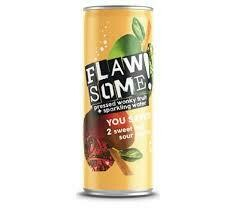 FLAWSOME! SWEET & SOUR APPLE BUBBLY CAN