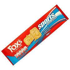 FOXS SPORT SHORTCAKE BISCUITS 200G