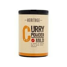 HERITAGE MILD CURRY POWDER 50G