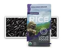 LOTUS FORBIDDEN BLACK RICE