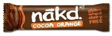 NAKD BAR COCOA ORANGE F&N GLUTEN FREE 35G