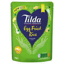 TILDA  - STEAMED EGG FRIED BASMATI RICE