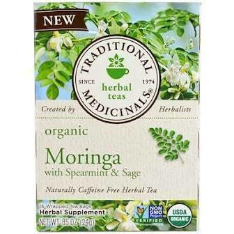 TRADITIONAL MED MORINGA TEA