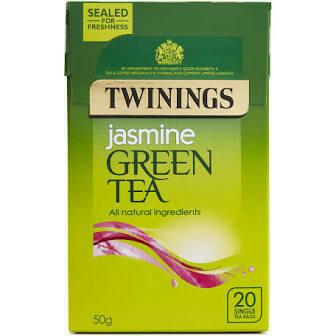 TWININGS JASMINE GREEN TEABAGS 20S