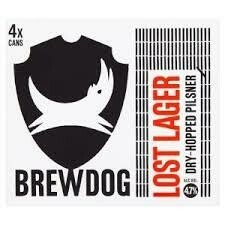 BREWDOG - LOST LAGER 330ML x 12 NRB CS