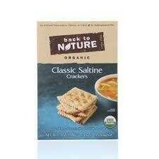 BACK TO NATURE CRACKERS SALTINE