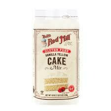 BOBS RED MILL GF VANILLA CAKE MIX 19 OZ