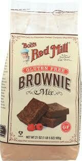 BOBS RED MILL BROWNIE MIX GLUTEN FREE 21OZ EA