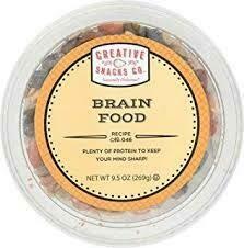 CREATIVE SNACKS BRAIN FOOD 9.5 OZ