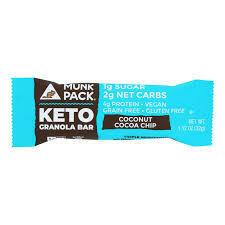 MUNK KETO COCONUT COCO CHIP KETO 4 x 1.12 OZ EA