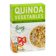 PEREG - QUINOA W/VEGETABLES BOX 6 OZ